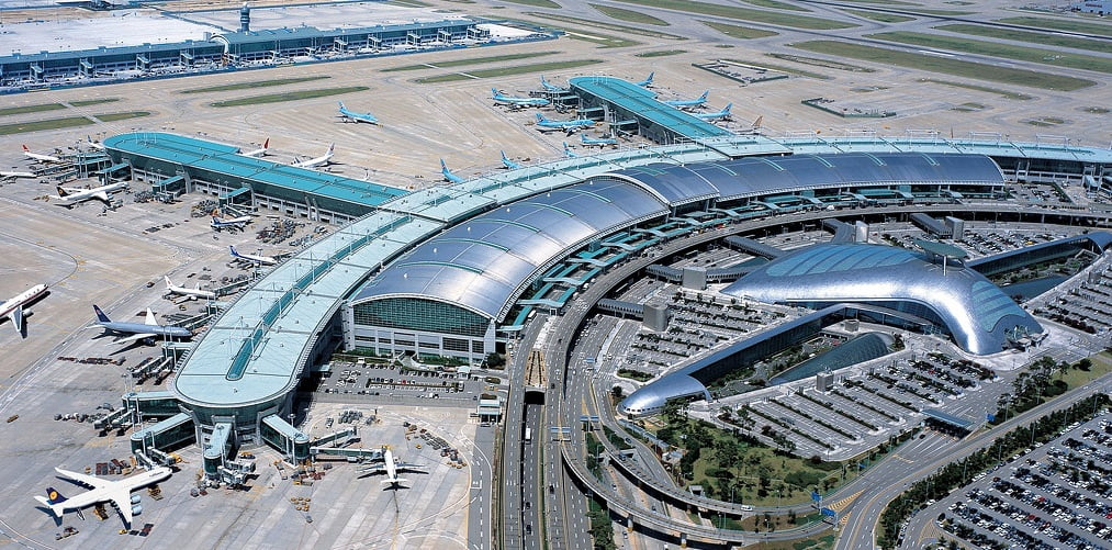Корейский международный аэропорт Инчхон