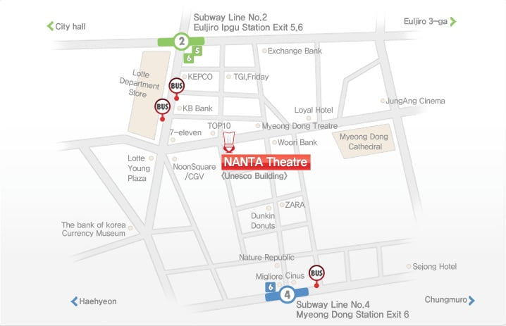 Как проехать в театр Нанта Мендон