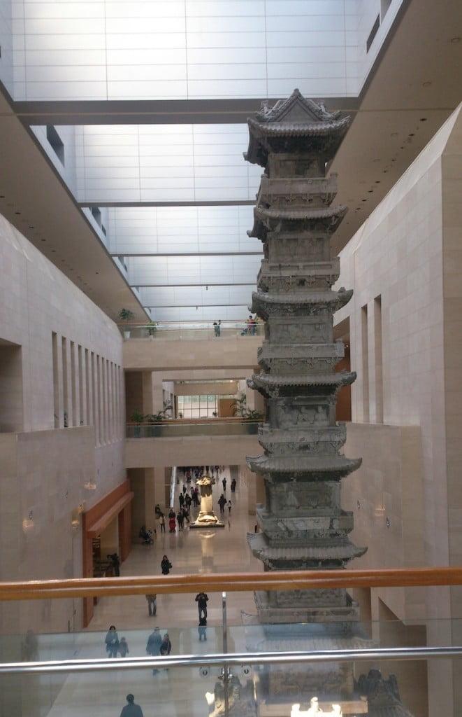 Холл Сеульского Нациоального музея