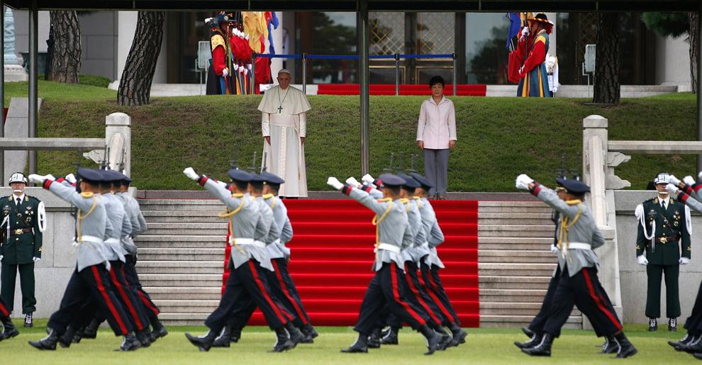 Визит папы Римского в Корею