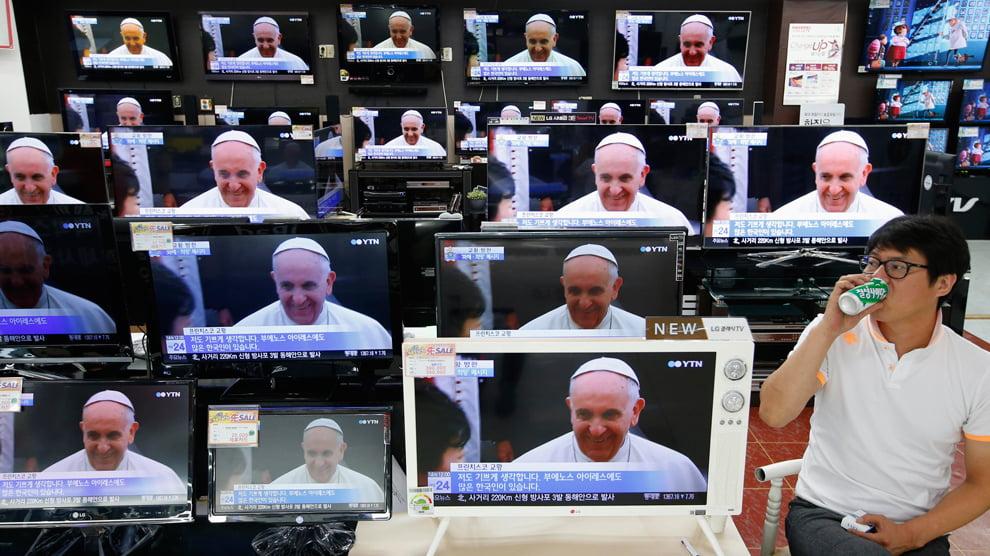 папа Римский в Корее