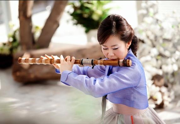 Пири – корейская флейта