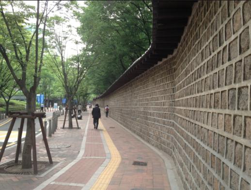 Дорожка у стены Токсугун