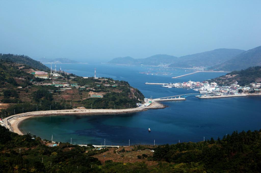 Корейский остров Гомундо
