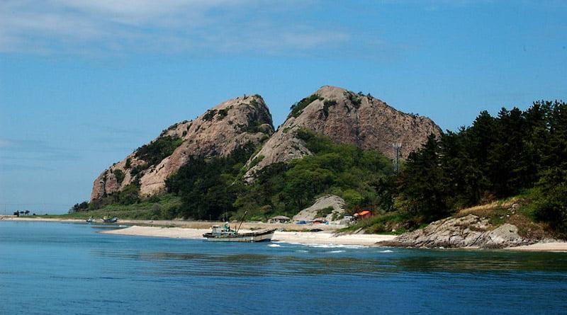 Красивые корейские острова