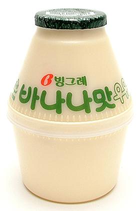 Корейское банановое молоко