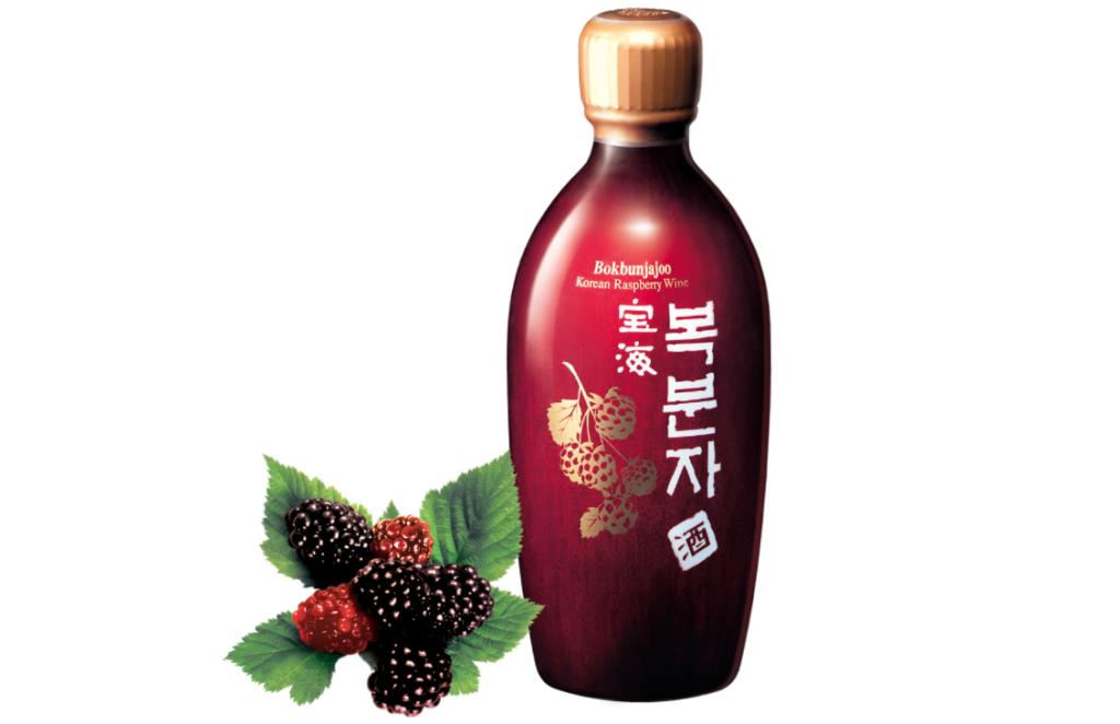 Корейское малиновое вино