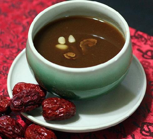 Корейский чай из китайских фиников