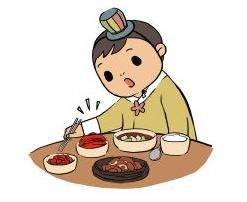 Корейские правила поведения за столом