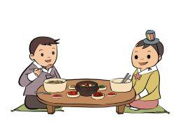 Этикет за столом. Корея