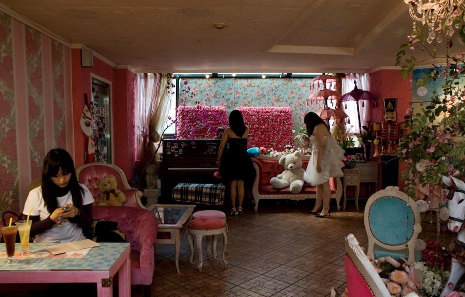 Кафе Princess Diary в Сеуле