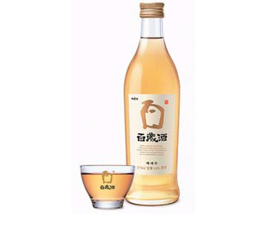 Корейское вино Сто лет