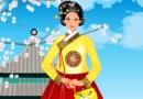 Корейская принцесса на прогулке
