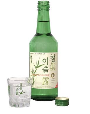 Корейская водка соджу