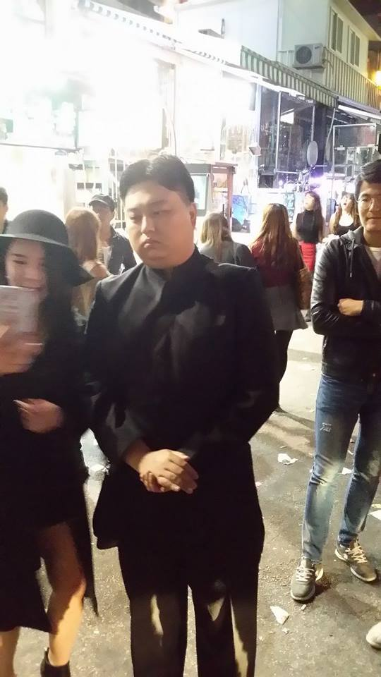 Ким Чен Ын в Южной Корее