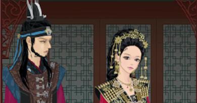 Игра-одевалка Королева Сондок
