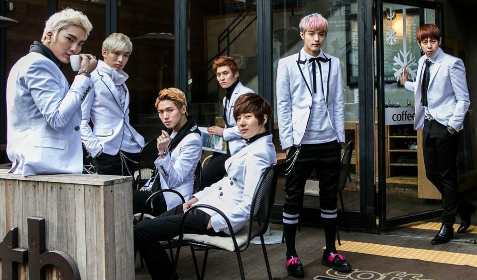 Корейская поп-группа SPEED