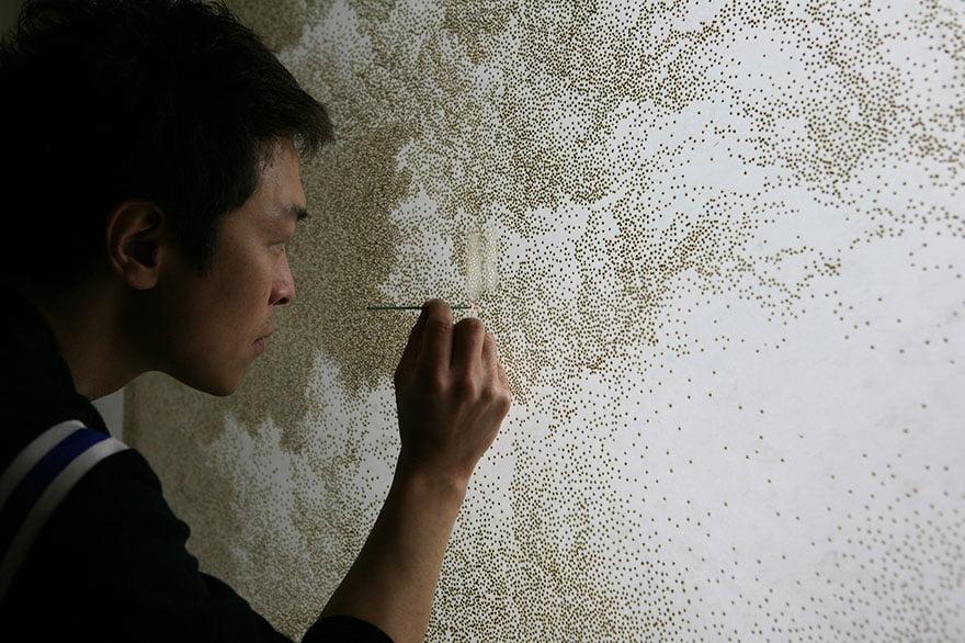 Современный корейский художник Пак Чжихён