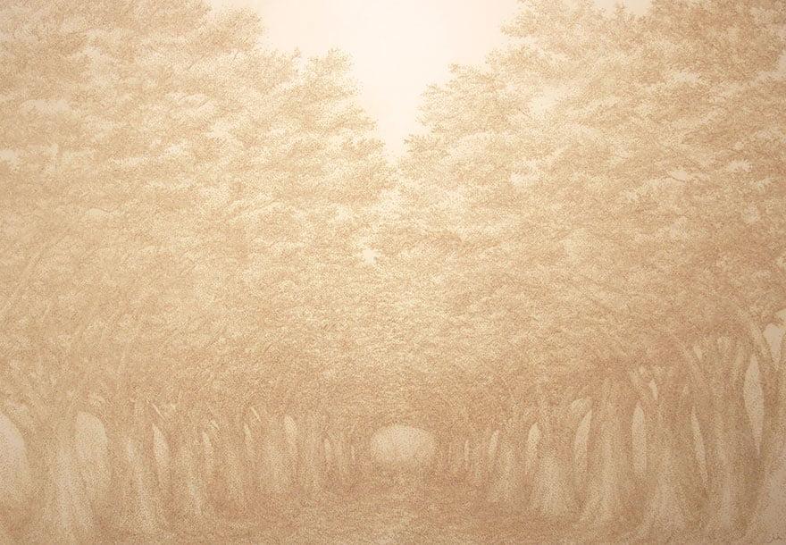 Южнокорейский художник Пак Чжихён