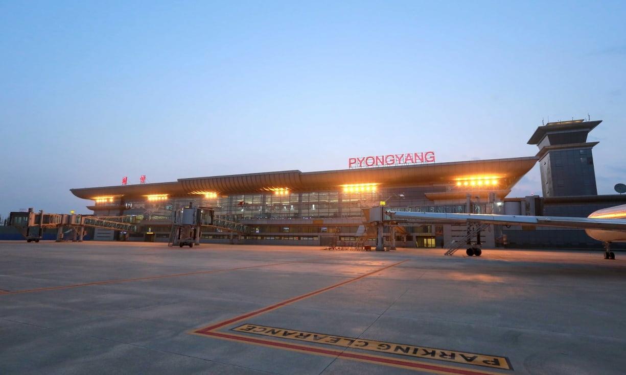 Новый терминал международного аэропорта в Северной Корее