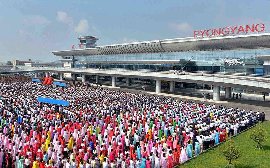 Аэропорт в Пхеньяне