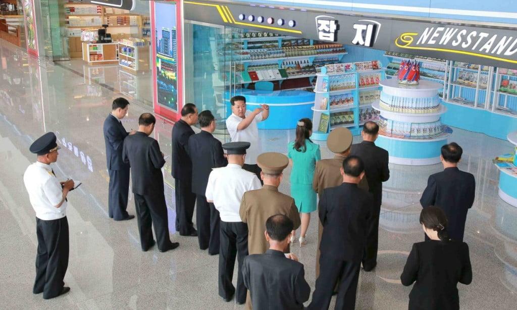 Новый международный терминал в Северной Корее