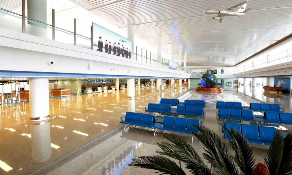 Аэропорт в Северной Корее