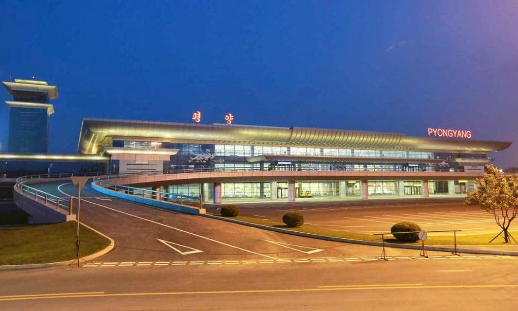 Новый аэропорт в Северной Корее