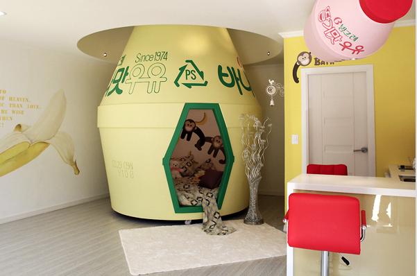 Banana Milk отель в Корее