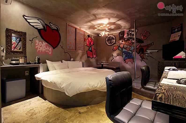 Love Motel в Сеуле