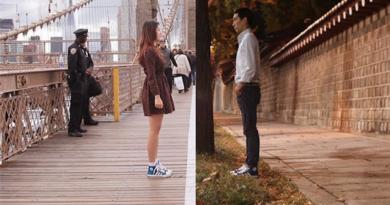 Влюбленная корейская пара