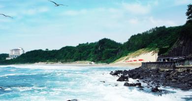Самый красивый пляж Кореи