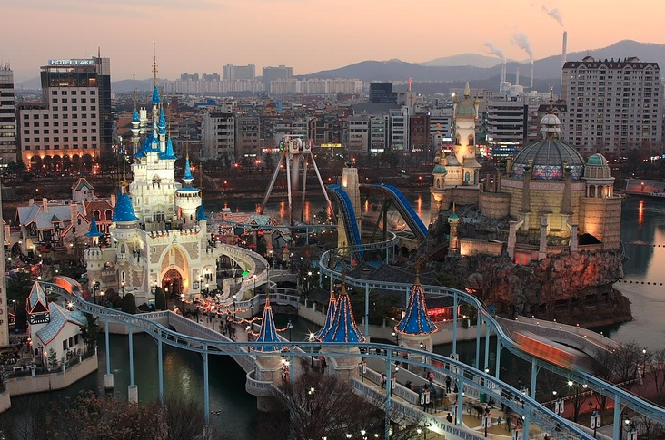 Lotte World в Корее