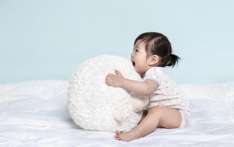 Маленькая корейская девочка