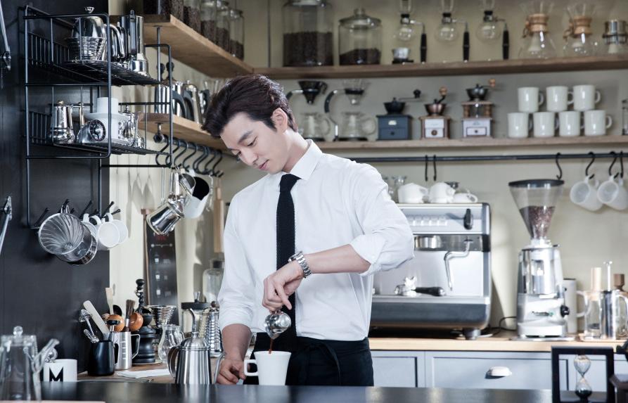 Корейцы любят пить кофе