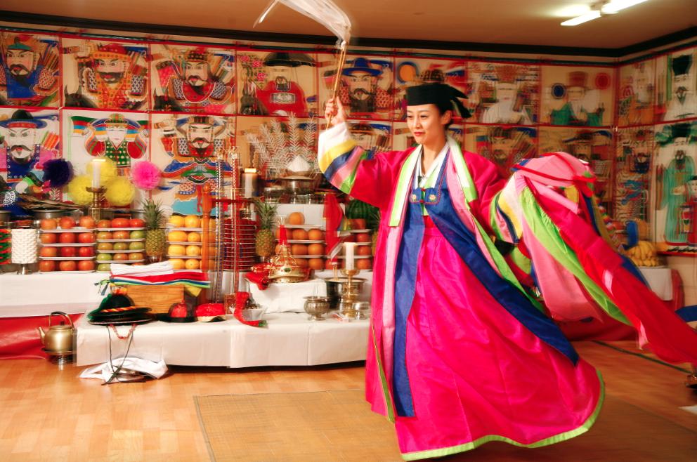 Шаманизм в Корее