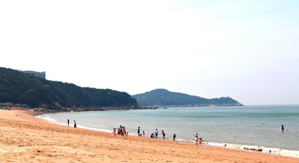 Корея: желтое море