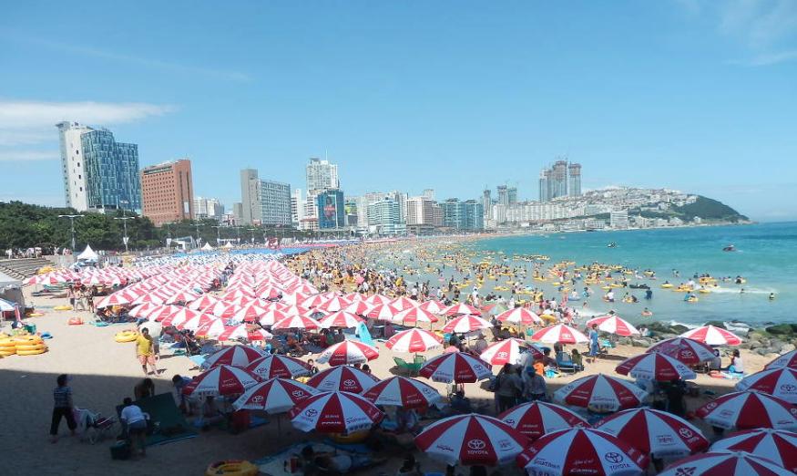 Лето в Корее