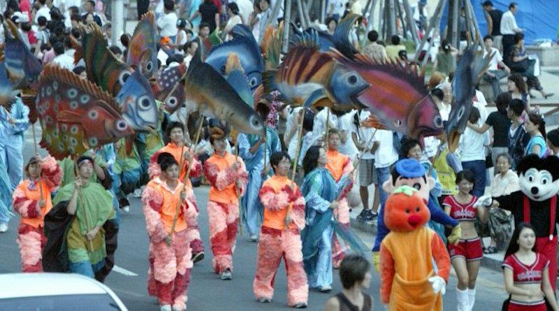 Фестиваль моря в Корее