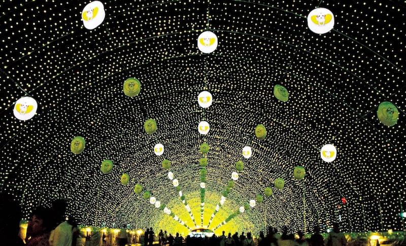 Фестиваль светлячков в Корее