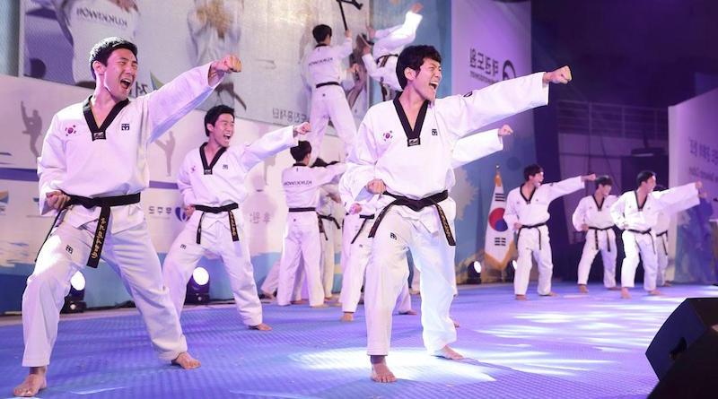 Фестиваль тхэквондо в Корее