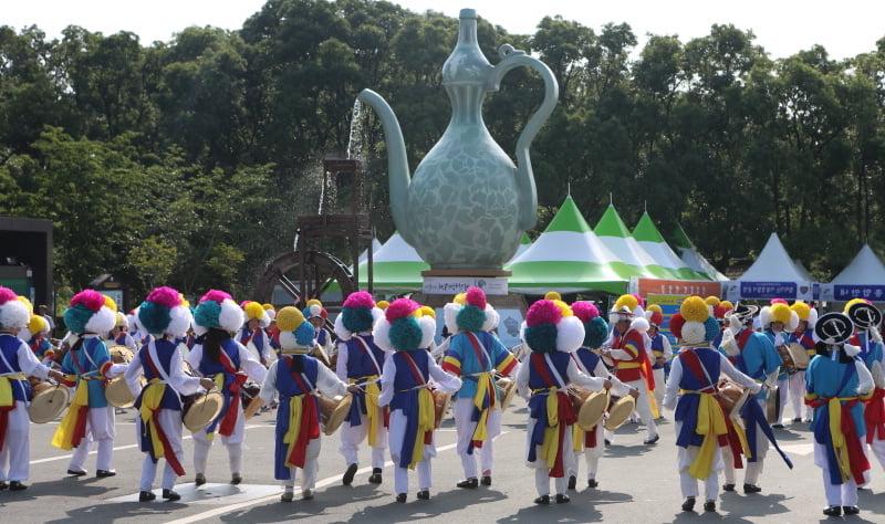 Фестиваль зеленого фарфора в Корее