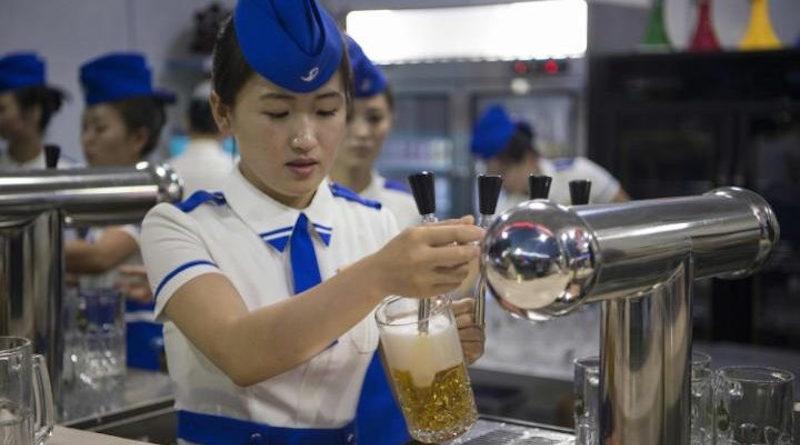 Первый фестиваль пива в Северной Корее (видео)