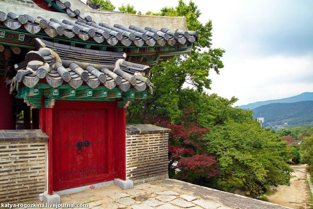 Традиционный корейский дом
