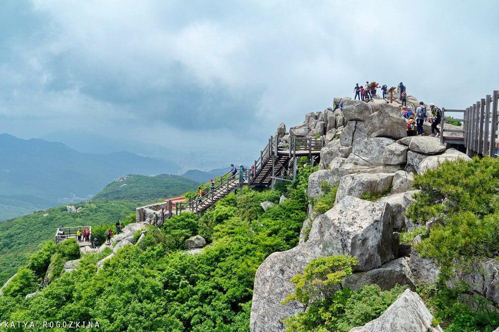 Пик горы Кымчжонсан